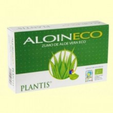 Aloin - Zumo de Aloe Vera - 20 ampollas - Plantis