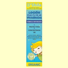 Loción Vitaminada Anti Parásitos - Especial Edad Escolar - 250 ml - D'Shila