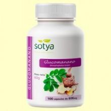 Glucomanano 600 - 100 cápsulas - Sotya