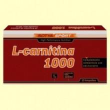 L-Carnitina 1000 mg - 10 ampollas - Sotya