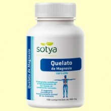 Quelato de Magnesio - 100 comprimidos - Sotya