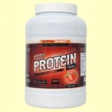 Proteína de Soja 100% Fresa - 1800 gramos - Sotya