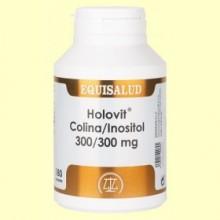 Holovit Colina Inositol 300/300 mg - 180 cápsulas - Equisalud