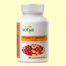 Vitamina C Natural 1 al día - 90 comprimidos - Sotya