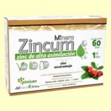 Minera Zincum - 60 cápsulas - Pinisan