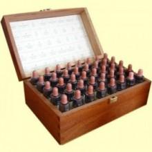 Set Completo Madera Elixires Florales - 40 botellitas de elixir de 10 ml - Plantis
