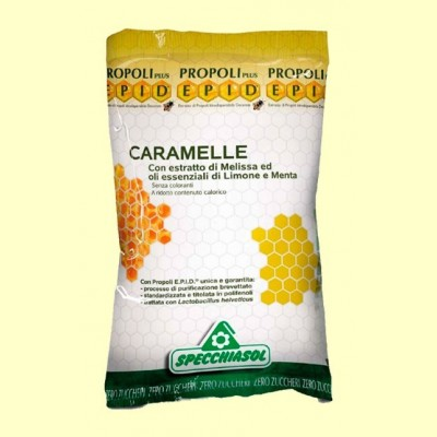EPID Caramelos con Extractos de Melisa Limón y Menta - 24 caramelos - Specchiasol