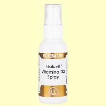 Holovit Vitamina D3 Spray - 50 ml - Equisalud