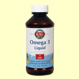 Omega 3 líquido - Laboratorios Kal - 120 ml