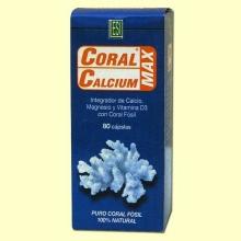 Coral Calcium Max - ESI Laboratorios - 80 cápsulas