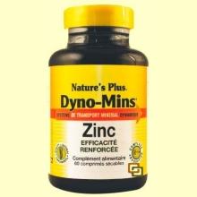 Dyno Mins Zinc - 60 comprimidos - Natures Plus