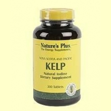 Yodo - Algas Kelp - Natures Plus - 300 comprimidos