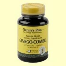 Ginkgo Combo - Apoyo a la circulación - Natures Plus - 60 vegicaps