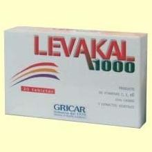 Levakal 1000 - 30 tabletas - Herbofarm