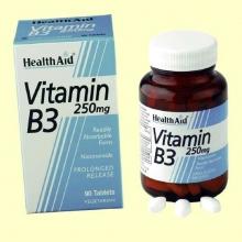 Vitamina B3 - Niacinamida 250 mg - 90 comprimi - Health Aid