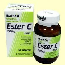 Ester C Plus 1000 mg - 30 comprimidos - Health Aid