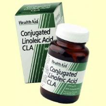 CLA - Ácido Linoleico Conjugado - 30 cápsulas - Health Aid