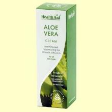 Crema de Aloe Vera - 75 ml - Health Aid