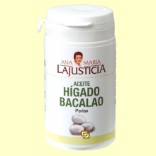 Aceite Hígado de Bacalao - 90 perlas - Ana María Lajusticia
