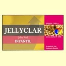 Jalea Real Infantil + Lactoferrina Jallyclar - 20 ampollas - Dieticlar *