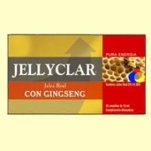 Jalea Real con Ginseng Jallyclar - 20 ampollas - Dieticlar