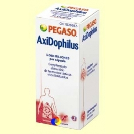 Axidophilus - Probiótico - 30 cápsulas - Pegaso