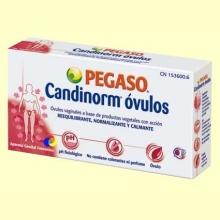 Candinorm Óvulos - Prebiótico - 10 óvulos - Pegaso