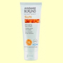 Sun Crema Solar Facial IP 15 Medio - 75 ml - Anne Marie Börlind