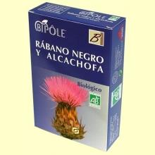 Biopôle Rábano Negro y Alcachofa - 20 ampollas - Bipole