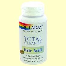 Total Cleanse Ácido Úrico - 60 cápsulas - Solaray