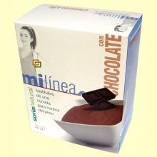 Mi línea - Sustitutivo comida sabor Chocolate - 6 sobres - Soria Natural