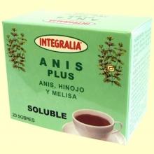 Anís Plus Soluble - 20 sobres - Integralia