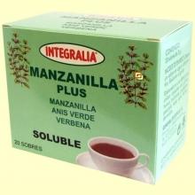 Manzanilla Plus - 20 sobres - Integralia