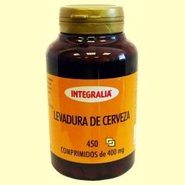 Levadura de cerveza - 450 comprimidos - Integralia