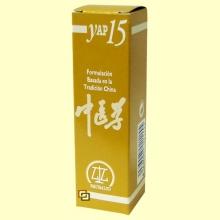Yap 15 - 31 ml - Huída de líquidos orgánicos por vacío de sangre y energía - Equisalud