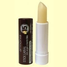Protector labial Argán y Karité Bio - 4 gramos - Armonía