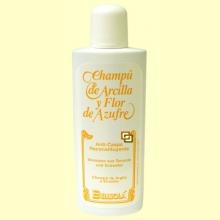Champú de Arcilla y Flor de Azufre - Anticaspa - 250 ml - Bellsolá