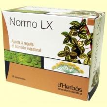 Normo LX - Transito Intestinal - 75 comprimidos - Derbós