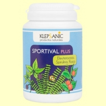Sportival Plus - Tónico y Energético - 60 cápsulas - Klepsanic