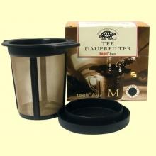 Tee Dauerfilter - Filtro para preparar té - 65 mm x 95 mm - Teeli