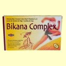 Bikana - Estimulante y Tonificante - 30 comprimidos - Robis