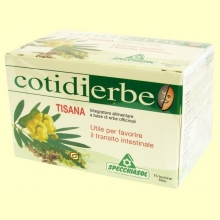 Cotidierbe - Tisana - 15 bolsitas - Specchiasol