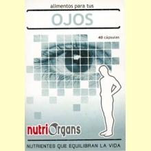 Nutriorgans ojos - Tongil - Alimento para tus ojos - 40 cápsulas