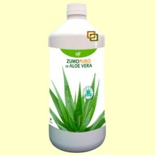 Zumo Puro de Aloe Vera - Digestivo - 1000 ml - Herbofarm