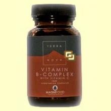 B-Complex con Vitamina C - 50 cápsulas - Terra Nova