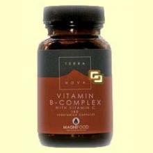 B-Complex con Vitamina C - 100 cápsulas - Terra Nova