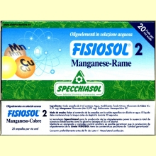 Fisiosol 2 Manganeso-Cobre de Specchiasol