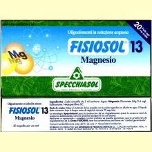 Fisiosol 13 Magnesio de Specchiasol