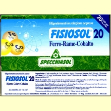 Fisiosol 20 Hierro-Cobre-Cobalto de Specchiasol