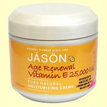 Crema Vitamina E 25000 IU Age Renewal - 113 g. - Jason